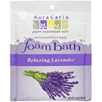 Aura Cacia Aromatherapy Foam Bath, Relaxing Lavender, 2.5 ounce packet (Pack of 3) by Aura Cacia preisvergleich bei billige-tabletten.eu