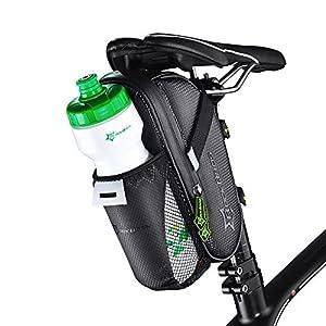 Docooler MTB de la Bici del Camino de Ciclo de Montar del Asiento del Bolso del Paquete Bolsa Botella de Agua de la Bolsa