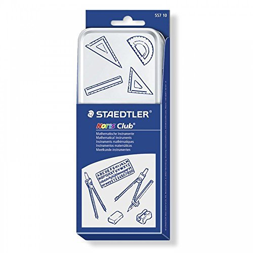 Staedtler 557 10 Noris Club Mathematical Set Test