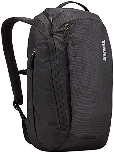 Thule Erwachsene Enroute Backpack, Black, One Size/30 x 24 x 47 cm (Ripstop-nylon-shell)