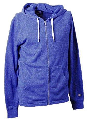 Champion Sweatshirt Herren HOODED FULL ZIP SWEATSHIRT Blended Ultra Light Frühling Terry gr.240 Royal Blue (Blue Royal ZOLB),XL (Sport-frühling Champion)