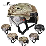 Airsoft Jagd Taktische Helm Kampfhelm EXF BUMP Helm und Schutzbrille (Multicam)