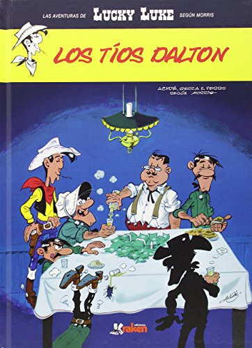 Portada del libro Lucky Luke. Los tíos Dalton (Aventuras Lucky Luke (morris)) de Achdé (6 feb 2015) Tapa blanda