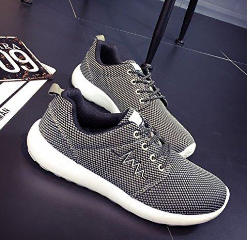 Chaussure de sport basket mode homme sneakers Gris