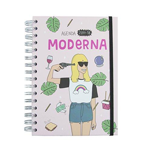 Moderna de pueblo - Agenda escolar 2017-18