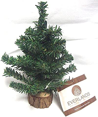 Everlands Artificial Mini 20cm Table Top Christmas Tree Decoration With
