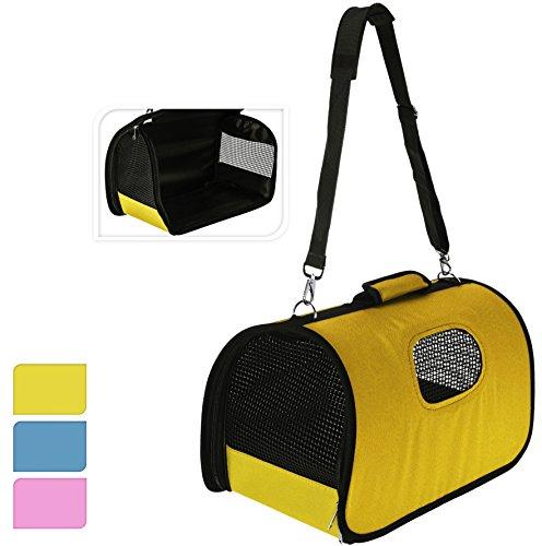 Transporttasche für Hunde und Katzen - Hundetransportbox Katzentransporttasche Rosa