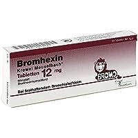 Bromhexin Krewel Meuselb.tabletten 12mg 50 stk preisvergleich bei billige-tabletten.eu
