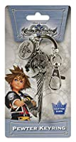 Disney Kingdom Hearts Swords with Dangle Pewter Llavero de Toy Zany