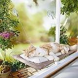PriMI Katzenliege mit Saugnäpfen zur Befestigung am Fenster