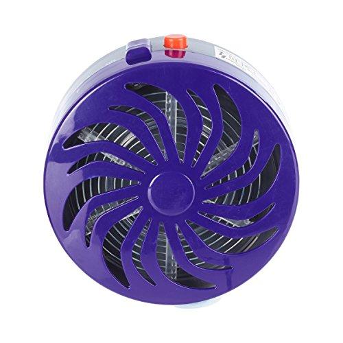Solar-Insektenkiller, Insektenvernichter, Insektenschutz, Insektenstopp, Insektenfalle, Mückenfalle, Mückenlampe, Fliegenfalle, Kunststoff, Ø 10 cm