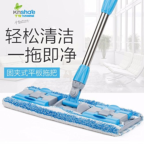 LIUXINDA-WJ 2018 Home LatestFlat mops and Cloth Wooden Floor mops Home Clip Towel Flat Towed -