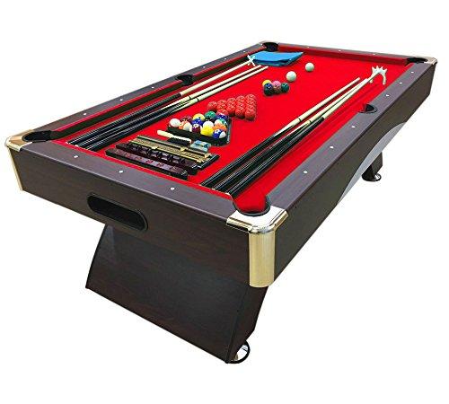 Billardtisch 8 ft Modell CAESAR Full Optional Billard Billard-Spiel Messung 220 x 110 cm neue