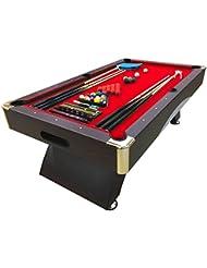 Mesa de billar juegos de billar pool 8 ft carambola FULL Medición 220 X 110 cm