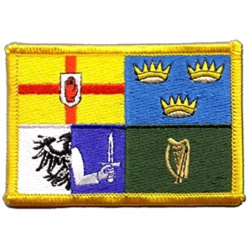 Ireland Munster Flag embroidered Iron-On Patch