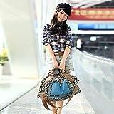 FGHGFCFFGH Women Hobo Satchel Fashion Bag Tote Messenger Leather Purse Shoulder Handbag