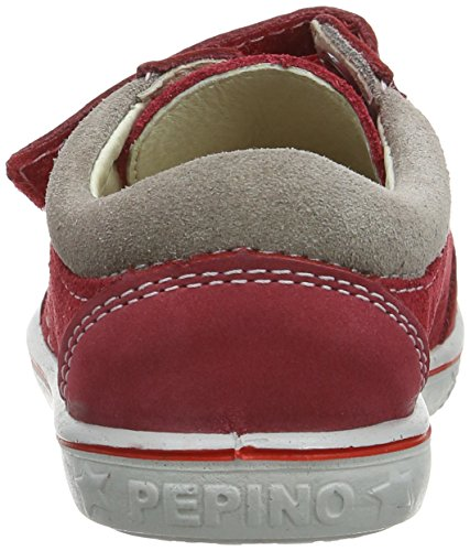 Ricosta Timmy M 61, Jungen Low-Top Sneaker Rot (Rosso/Rot)