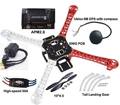 modeltronic Combo Dron F450ARTF mit APM2.6und GPS - Machen Kit Radio