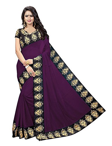 KBF Saree (All Sarvanan Saree_Purple_Free Size)