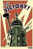 1art1 50016 Doctor Who - Daleks, Zum Sieg Poster 91 x 61 cm