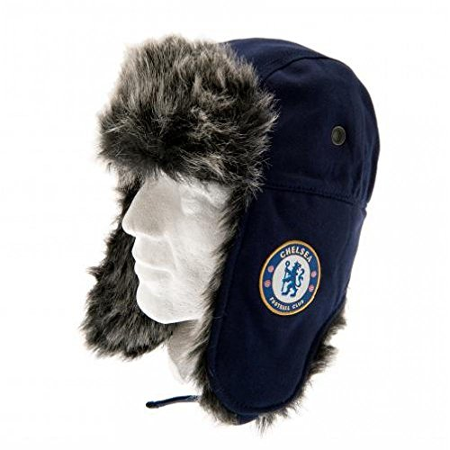 Chelsea FC Official Football Gift Jersey Trapper Hat - A Great Christmas   Birthday Gift Idea For Men And Boys