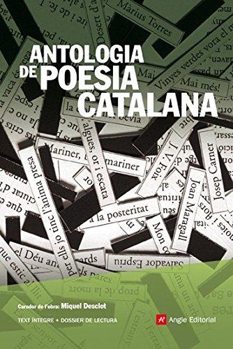 Antologia De Poesia Catalana (Angle Lector) por Agustí Bartra Lleonart