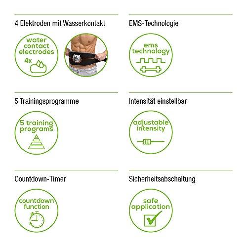 Beurer Elektrostimulations-Bauchmuskel-Gürtel EM 35, EMS Training - 3
