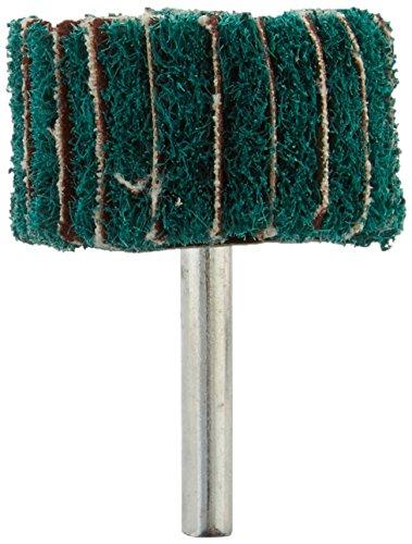 Sourcingmap a14043000ux0162 - 40 millimetri x 25mm lucidatura abrasiva verde scuro non tessuto ruota pattina