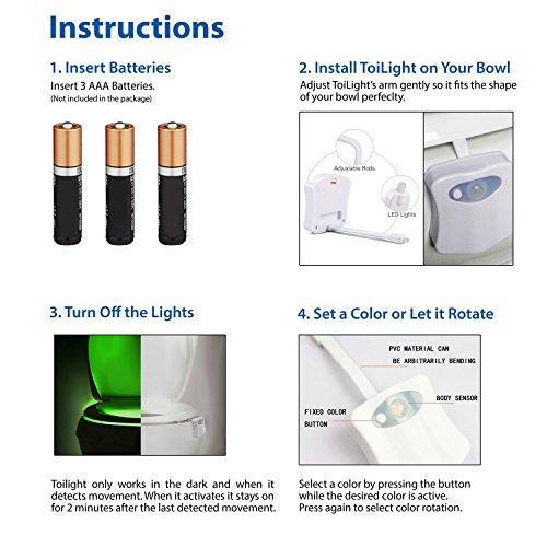 Il-Tuo-ToiLight-Sensore-di-Movimento-LED-Attivati-Luce-Notturna-da-Toilette-Fa-Splendere-Qualunque-Tazza-del-Gabinetto-Modalit-9-Colori-per-Illuminare-il-Tuo-Water-Compresi-Rotazione-Colori-Blu-Rosso-
