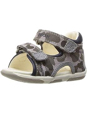 SANDALO BAMBINO GEOX PRIMI PASSI TELA GRIGIO/BLU b sandal tapuz boy primi passi