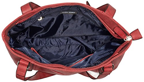 GERRY WEBER Damen Open Mind Shopper, 38x26x13 cm Rot (red 300)