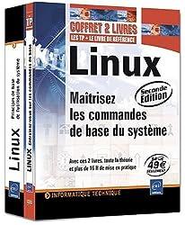 Linux - Coffret de 2 livres : Maîtrisez les commandes de base du système [2ième édition]