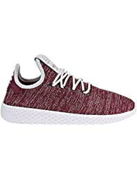 adidas PW HU J Big Kid s Shoes Core Red Footwear White Collegiate Burgandy  cq2299 e060a8cdb47