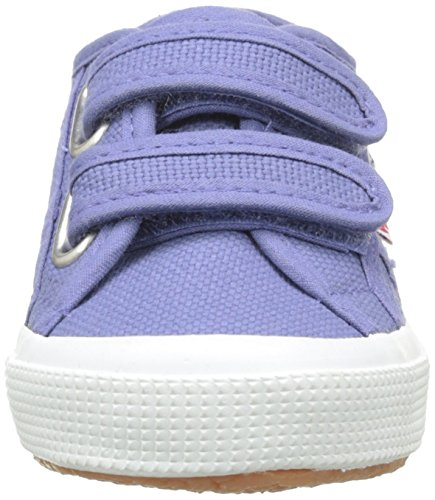 Superga 2750-Jvel Classic, Scarpe da Tennis Unisex – Bambini Bleu (X46 Blue Velvet)