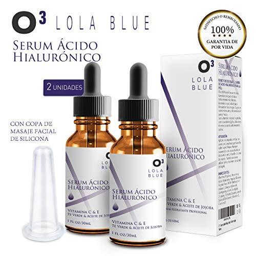 O³ Serum Acido Hialuronico Puro 2×30 ml Lola Pink