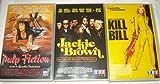 Quentin Tarantino / Pulp Fiction - Jackie Brown - Kill Bill [VHS] Cassette Vidéo