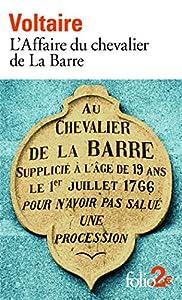 """Afficher """"L'affaire du chevalier de La Barre"""""""