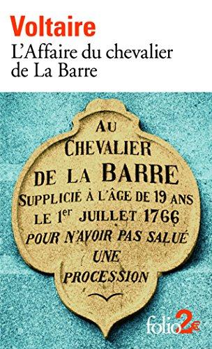 L'Affaire du chevalier de La Barre/ L'Affaire Lally