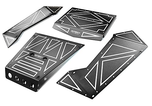 Integy RC Model Hop-ups C27006BLACK Aluminum Alloy Panel Kit for Axial 1/8 Yeti XL Rock Racer Buggy - Yeti Rc-kit