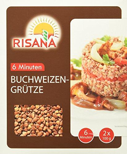 Preisvergleich Produktbild Risana Buchweizengrütze,  6er Pack (6 x 200 g)