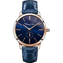 Thomas Sabo Damen-Armbanduhr Glam Spirit rosegold blau Analog Quarz