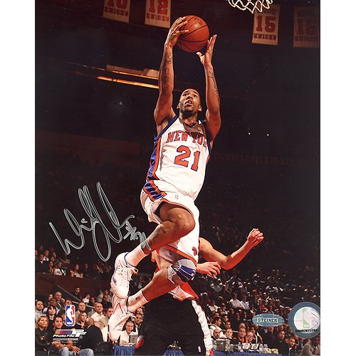 Steiner Sports NBA New York Knicks Wilson Chandler Home Lay-up Foto, 6x 20 -