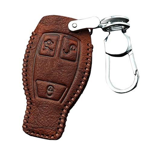Eruditter Schlüsseltasche Männer Frauen Autoschlüsseltasche Schlüsselmäppchen Für Mercedes Key Bag Neue E-Klasse E300l Glc260 C180 C200l E200l E320l Ledertasche