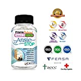 ANSIESTOP - Combate los síntomas de la ansiedad y el estrés - Acaba con el nerviosismo y facilita el descanso - Propiedades Relajantes Naturales - Triptófano con Pasiflora - 30U. de rápida actuación