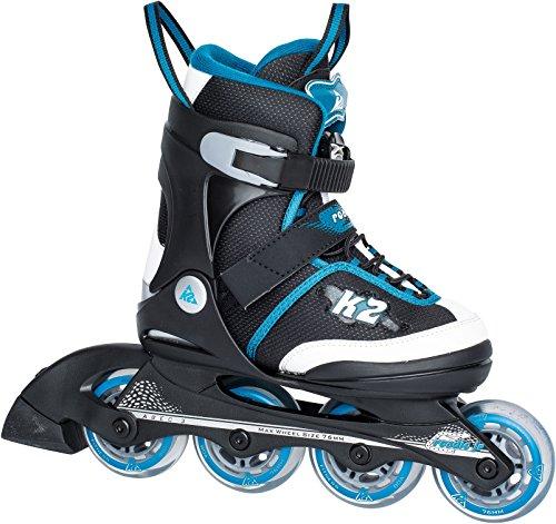 K2 Jungen Inline Skate Set Roadie Pack Jr Boys, mehrfarbig, M, 30A0723.1.1.M