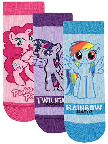 Mein Kleines Pony Mädchen My Little Pony Socken Packung mit 3 Paar Mehrfarbig 31/36 (My Little Mädchen-outfits Pony)