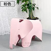 Stool Dana Carrie Elephant child chair kindergarten cute plastic baby cartoon elephant elephant, pink