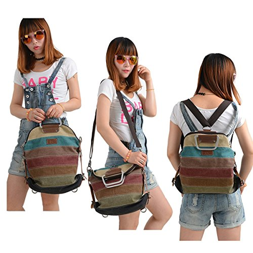 Imagen de la desire mujeres vintage  escolar daypacks damas  casual bolso bolsos  para el trabajo escolar vacaciones viajes senderismo camping actividades retro  alternativa