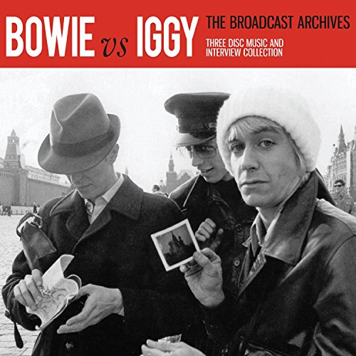 Bowie Vs Iggy - The Broadcast Archive (3CD BOX SET)