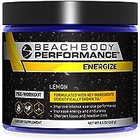 Preisvergleich für Beachbody Performance Energize Lemon vor dem Workout mit Beta-Alanin, niedrig dosiertem Koffein und Quercetin
